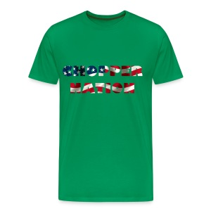 Chopper nation flag US - T-shirt Premium Homme