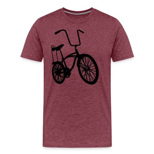 Retro Bike - Herre premium T-shirt