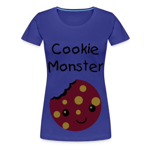 Cookie Monster Top - Women's Premium T-Shirt