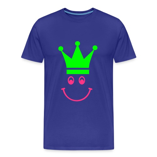 Smiley Crown - Herre premium T-shirt