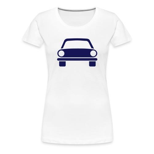 Jeg elsker deg - bil - Premium T-skjorte for kvinner