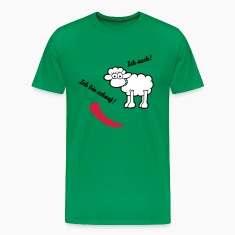 Moss green Sheep hot Men's T-Shirts