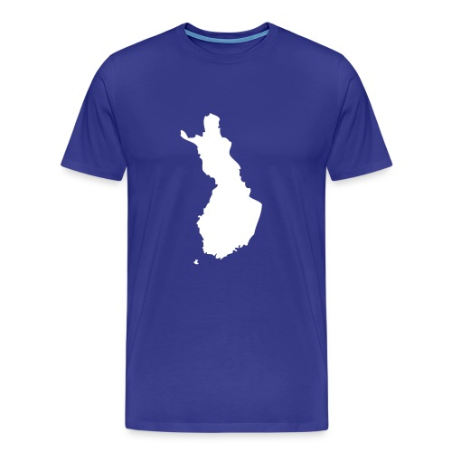 Finnland Karte - Männer Premium T-Shirt