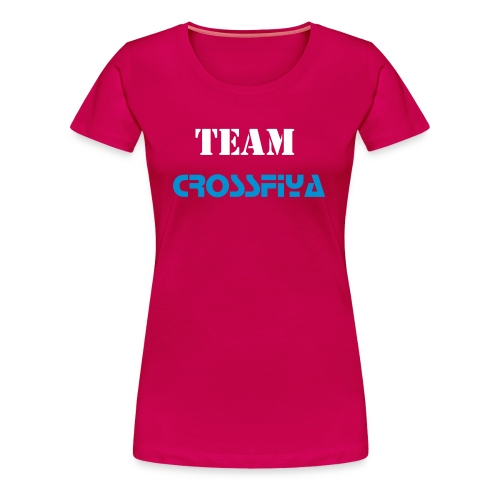 The girls t shirt change colours and enter names on back - Women's Premium T-Shirt