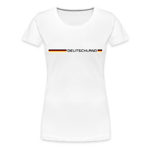 Deutschland - Frauen Premium T-Shirt