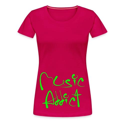 Sun Ave-kuuloke paita - Naisten premium t-paita