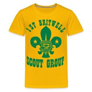 Kids Large Logo T-Shirt - Teenage Premium T-Shirt