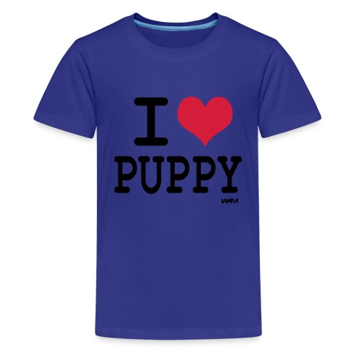 I love puppy - Teenager Premium T-shirt