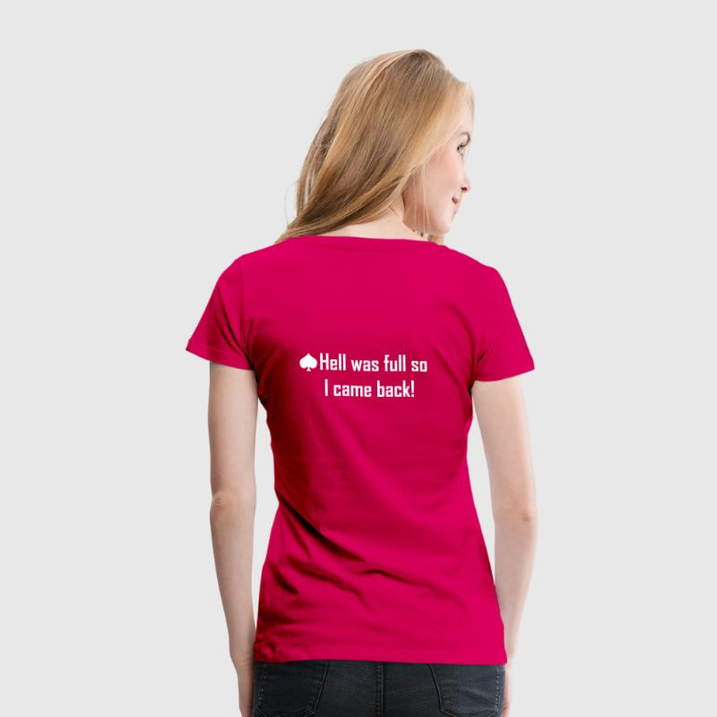 Light pink hell was full so I came back! Women's T-Shirts - Women's Premium T-Shirt