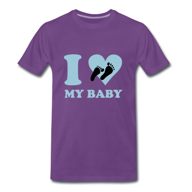 Indaco I love my baby T-shirt