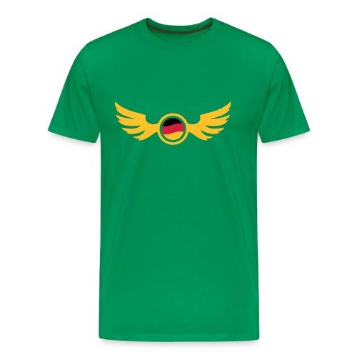 Moosgrün germany_2 T-Shirts - Männer Premium T-Shirt