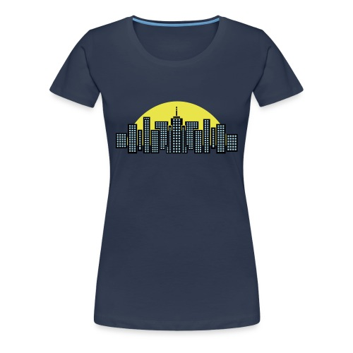 Charbon Manhattan - T-shirt Premium Femme