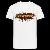 T-Shirts ~ Männer T-Shirt ~ T-Shirt Mann Restavek Splash 02 © by kally ART®
