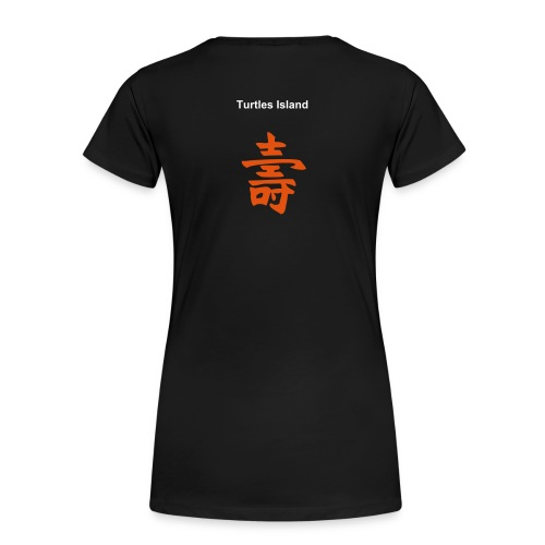 Ladies Turtle Tee Mod. 3 - Frauen Premium T-Shirt