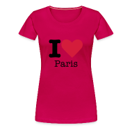 T-shirts ~ Vrouwen Premium T-shirt ~ I Love Paris