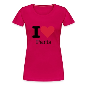 I Love Paris - Vrouwen Premium T-shirt