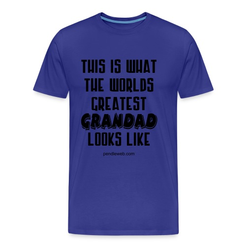 World's Greatest Grandad T.Shirt - Men's Premium T-Shirt
