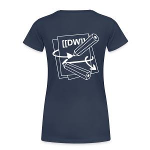 DokuWiki Girlie - Women's Premium T-Shirt