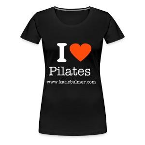 I Heart Pilates Fitted T - Women's Premium T-Shirt