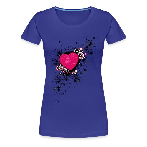 Messed Up Heart - Women's Premium T-Shirt