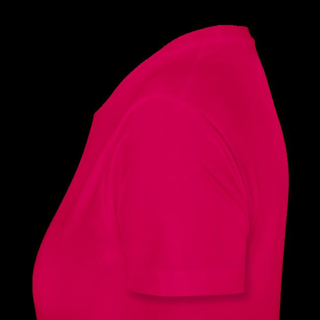 Stand.DA-Shirt - Logo weiss klein links