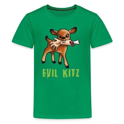 evil kits t-shirt - Teenage Premium T-Shirt