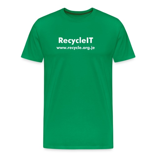 Ments RecycleIT T-Shirt - Men's Premium T-Shirt