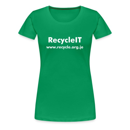 Women's RecycleIT Shirt - Women's Premium T-Shirt