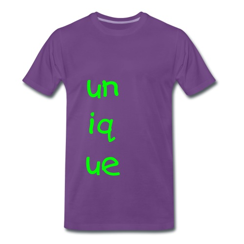 unique purple tee - Men's Premium T-Shirt