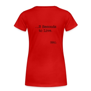 3 Seconds - full - Women's Premium T-Shirt