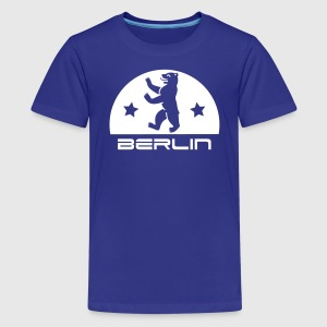 Berlin Bär Wappen - Teenager Premium T-Shirt