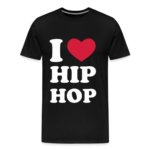 HIP HOP TEE - Premium T-skjorte for menn