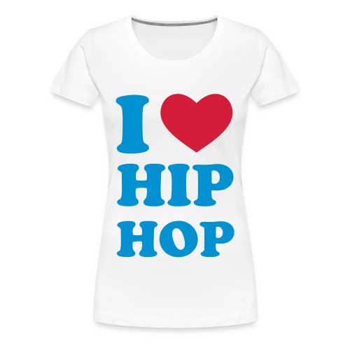HIP HOP LADIES TEE - Premium T-skjorte for kvinner