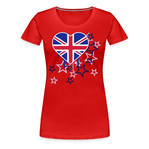 CFGP Union Jack Stars girly - Frauen Premium T-Shirt