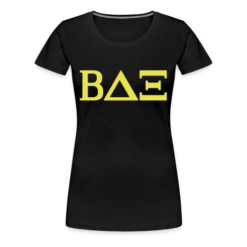 DieBetas-Girl-shirt(betas on you tube) - Frauen Premium T-Shirt