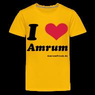T-Shirts ~ Teenager Premium T-Shirt ~ I Love Amrum