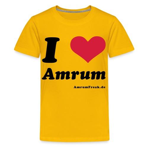 I Love Amrum - Teenager Premium T-Shirt