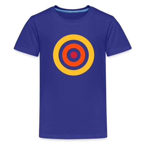 Shirt Kreise - Teenager Premium T-Shirt