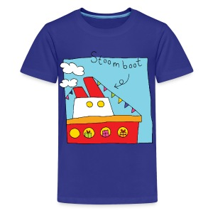 Stoomboot - Teenager Premium T-shirt