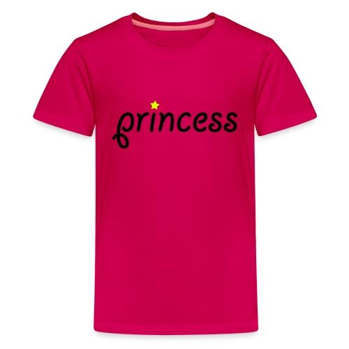 Rosa t skjorte  - Premium T-skjorte for tenåringer