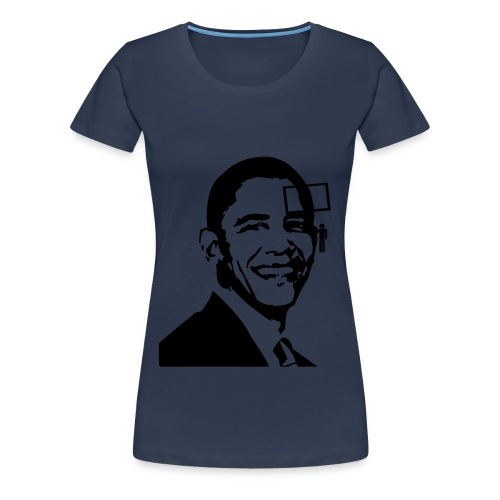 Barrack Obama Protest Message - Women's Premium T-Shirt