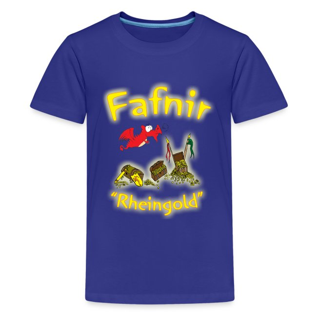 "Kinder T-Shirt mit dem Drachen ""Fafnir"""