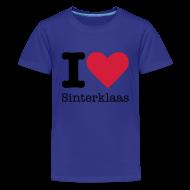 Shirts ~ Teenager Premium T-shirt ~ I Love Sinterklaas