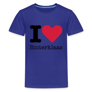 I Love Sinterklaas - Teenager Premium T-shirt