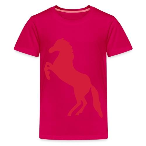 Meisjes paarden t-shirt - Teenager Premium T-shirt