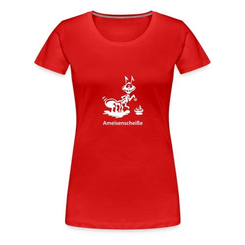 Fotografinnen T-Shirt Ameisenscheiße - Frauen Premium T-Shirt