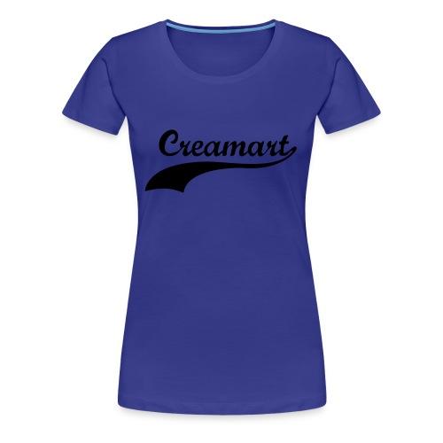 T-shirt Creamart cintré Femme - T-shirt Premium Femme