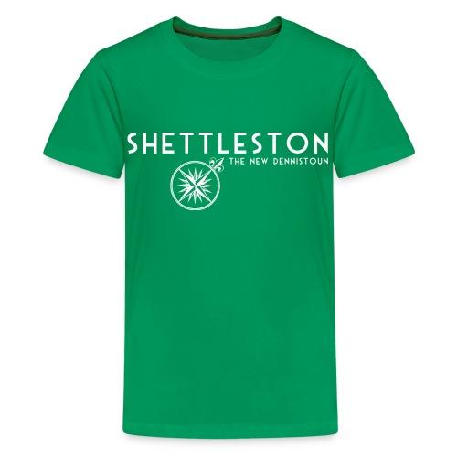 Shettleston - Teenage Premium T-Shirt