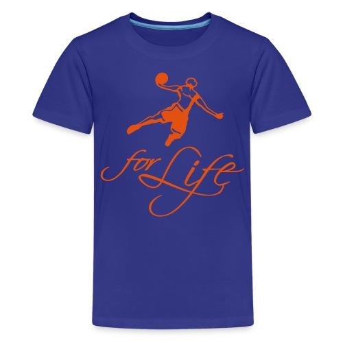 Baller for Life ! - T-shirt Premium Ado