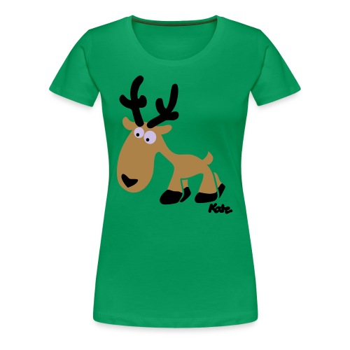 T-Shirt  Deer -c - Women's Premium T-Shirt